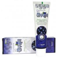 Зубная паста Hanil Blueberry с экстрактом черники, 180мл