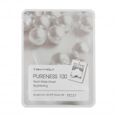 """Тканевая маска с экстрактом жемчуга """"Pureness 100 Pearl Mask Sheet"""" 21мл"""