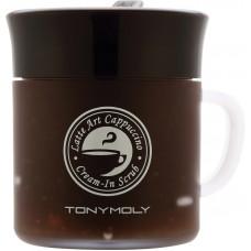 Скраб для лица Tony Moly Latte Art Cappuccino Cream in Scrub , 95 мл