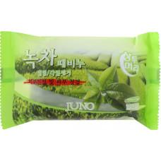 """Мыло для рук и тела c экстрактом зелёного чая """"Juno"""" 150g"""