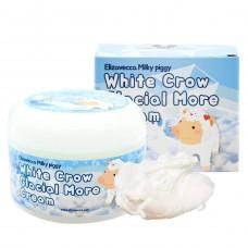 Крем для лица воздушный Elizavecca White Crow Glacial More Cream