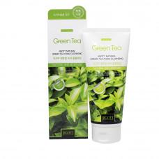 Очищающая пенка с экстрактом зелёного чая, 180мл, Jigott