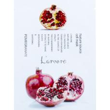 "Тканевая маска для лица с экстрактом граната L'ARVORE ""NATURE SOURCE"", 25 гр"