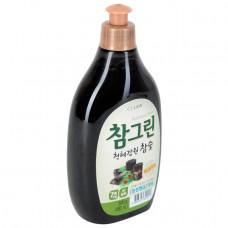 Средство для мытья посуды, овощей и фруктов с экстрактом древесного угля , 480мл