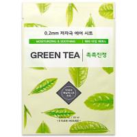 Маска для лица с зеленым чаем Etude House 0.2 Therapy Air Mask #Green Tea
