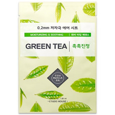 Маска для лица с зеленым чаем Etude House 0.2 Therapy Air Mask #Green Tea