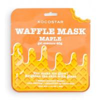 """Омолаживающая вафельная маска для лица Kocostar Waffle Mask Ice Cream """"Кленовый сироп"""", 40 гр"""