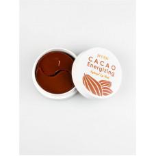 Разглаживающие гидрогелевые патчи для области вокруг глаз с экстрактом какао, 60 шт, Petitfee