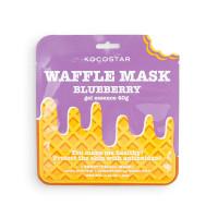 """Противовоспалительная вафельная маска для лица Kocostar Waffle Mask Ice Cream  """"Черничное наслаждение"""", 40 гр"""