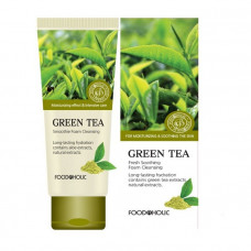 Пенка для умывания FoodaHolic Green Tea Fresh Soothing Foam Cleansing