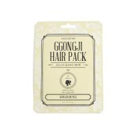 """Kocostar Восстанавливающая маска для поврежденных  волос """"Конский хвост"""", 8мл / GGONGJI HAIR PACK"""