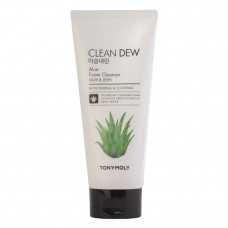 Пенка для умывания Tony Moly с экстрактом алоэ Clean Dew Aloe Foam Cleanser, 180мл
