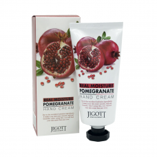 Крем для рук с экстрактом граната 100мл. Jigott Real Moisture Pomegranate Hand Cream