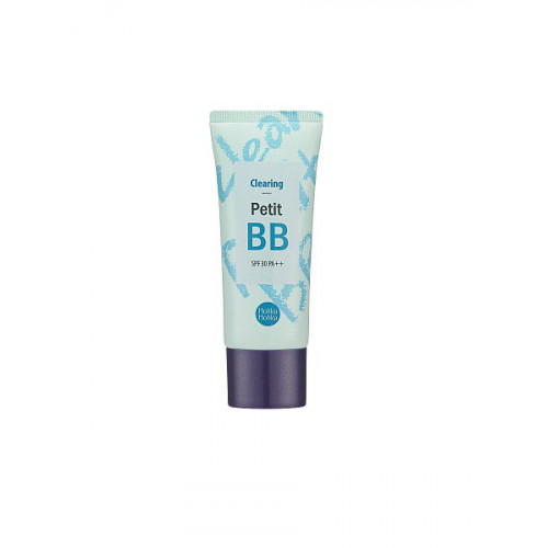 Проясняющий тон кожи BB крем Holika Holika Clearing Petit BB Cream, 30 мл