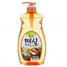 Средство для мытья посуды, овощей и фруктов Японский абрикос CHAMGREEN pump 960мл.