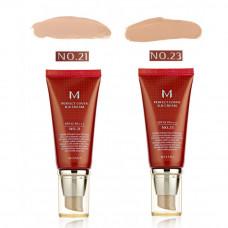 Идеальный ББ Крем Missha M Perfect Cover BB Cream No.21 SPF42 PA+++, Missha M Perfect
