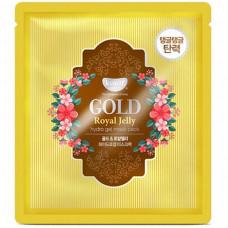 Гидрогелевая маска Золото и пчелиное маточное молочко KOELF, 30гр