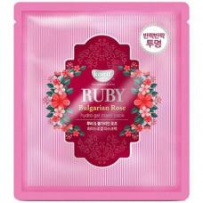 Гидрогелевая маска Рубин и масло розы KOELF, 30гр