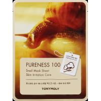 """Тканевая маска с экстрактом улиточной слизи """"Pureness 100 Snail Mask Sheet"""" 21мл"""