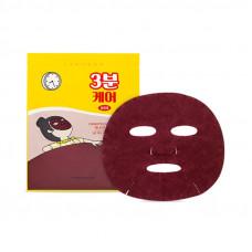 3 мин. маска для лица на основе черных бобов  Etude House 3 Minutes Care Mask