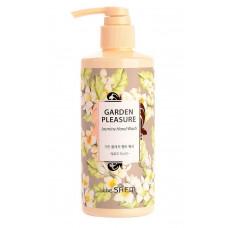 Мыло жидкое для рук с жасмином The Saem Garden Pleasure Hand Wash Mellow Jasmine, 300мл