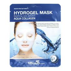 Успокаивающая увлажняющая гидрогелевая маска с коллагеном, 25г, MBeauty