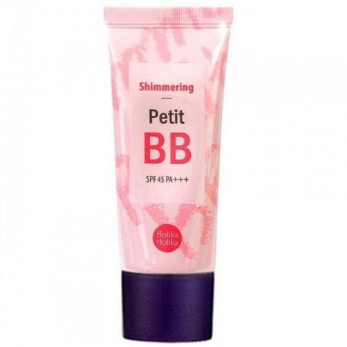 BB Крем с эффектом сияния Holika Holika Shimmering Petit BB Cream SPF45