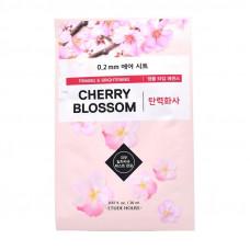 Маска для лица на основе сакуры Etude House 0.2 Therapy Air Mask #Cherry Blossom, 20 мл