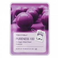 """Тканевая маска с экстрактом коллагена """"Pureness 100 Collagen Mask Sheet"""", 21мл"""