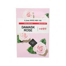 Маска с дамасской розой Etude House 0.2 Therapy Air Mask #Damask Rose