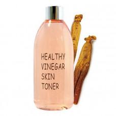 Тонер для лица КРАСНЫЙ ЖЕНЬШЕНЬ Realskin Healthy vinegar skin toner (Red ginseng), 300 мл