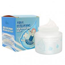Крем для лица увлажняющий гиалуроновый Elizavecca Aqua Hyaluronic Acid Water Drop Cream