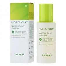 Сияющая сыворотка с витамином TONY MOLY С GREEN VITA C SPARKLING SERUM, 55 мл