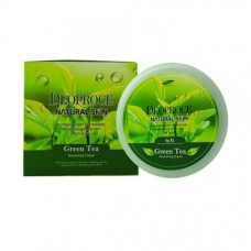 Крем для лица и тела с экстрактом зеленого чая DEOPROCE NATURAL SKIN GREENTEA Nourishing