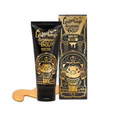 Золотая маска-пленка Elizavecca Hell-Pore Longolongo Gronique Gold Mask Pack