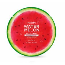 """Увлажняющая ночная маска на основе арбуза """"H)Water Melon Aqua Sleeping Mask"""", 50 мл"""