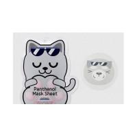 Успокаиваищая маска с пантенолом BLING CAT PANTHENOL MASK SHEET CALMING
