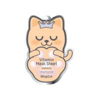 Витаминная маска BLING CAT VITAMIN MASK SHEET