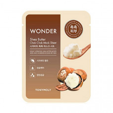 Тканевая маска с маслом ши Tony Moly Wonder Shea Butter Chok Chok Mask