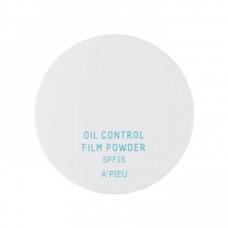 "Матирующая пудра для лица легкой текстуры ""OIL CONTROL FILM POWDER"", 5.5 г. - 02"