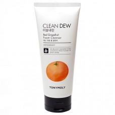 "Пенка для умывания с экстрактом грейпфрута ""Clean Dew Red Grapefruit Foam Cleanser"" 180мл"