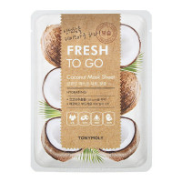 Тканевая маска с экстрактом кокоса Tony Moly Fresh To Go Coconut Mask Sheet, 22 г