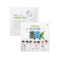 The Chok Chok Green Tea Toner Pack, Увлажняющий тонер на основе зеленого чая, 80 мл