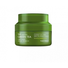 Tony Moly The Chok Chok Green Tea Gel Cream, гель-крем для лица c экстрактом зеленого чая