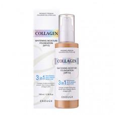 Тональная основа с коллагеном 3 в 1 Enough 3 In 1 Collagen Foundation #21 100мл