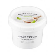 Питательная маска для лица на основе греческого йогурта Nature Republic GREEK YOGURT PACK_PLAIN, 130 мл