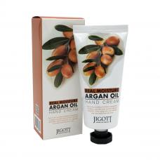 Увлажняющий крем для рук с аргановым маслом 100мл. Jigott Real Moisture Argan Oil Hand Cream