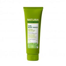 [NATURIA] Гель для душа МЯТА/ЛАЙМ Pure Body Wash (Wild Mint & Lime), 100 мл