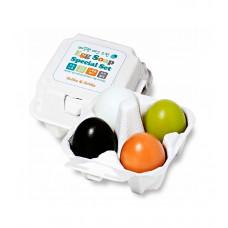 Набор мыло (уголь+глина+зеленый чай+ белок яйца) Holika Holika Egg Soap Special Set (50 гр*4)