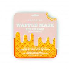 """Освежающая и смягчающая вафельная маска для лица Kocostar Waffle Mask Ice Cream """"Сливовое мороженое"""", 40 гр"""